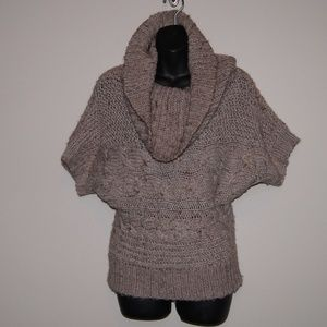The Limited Chunky Knit Sweater Sz S Brown